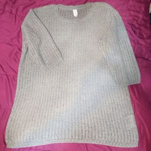 Jones New York Elbow Sleeve Acrylic Sweater Sz 1X